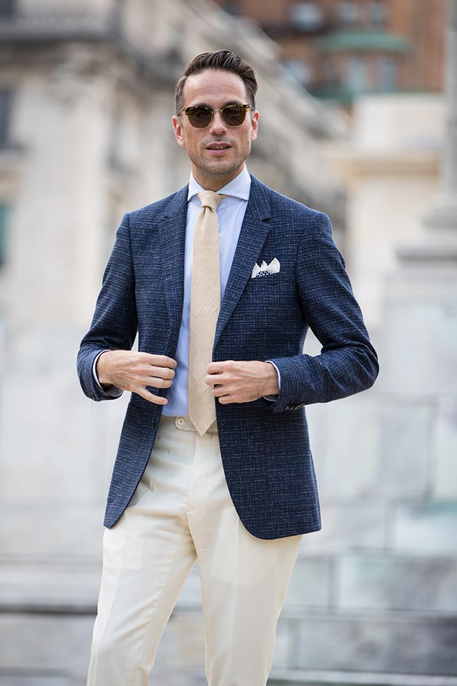 comprar real lujo más cerca de El estilo del invitado perfecto - Javier Cañizares